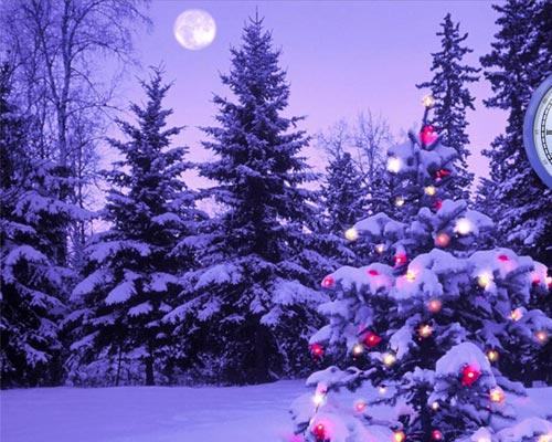 Immagini Di Natale Paesaggi.Paesaggio Auguri Di Buon Natale Su Facebook 2012 Jpg