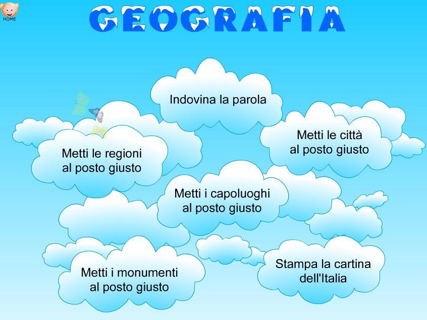 Esercitiamoci con la geografia for Baby flash italiano doppie