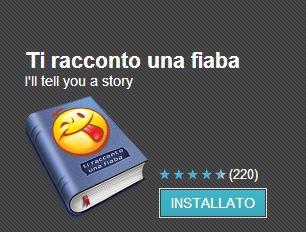 """App di """"Ti racconto una fiaba"""""""