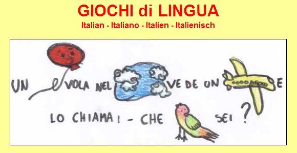 Giochi di lingua italiana