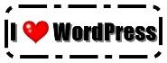 I love WordPress