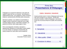 didapages gratis in italiano