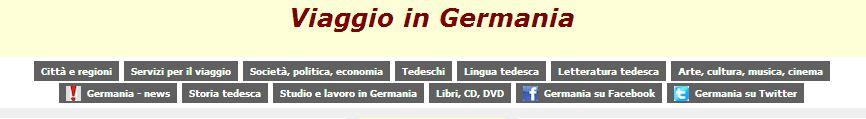 viaggio in germania