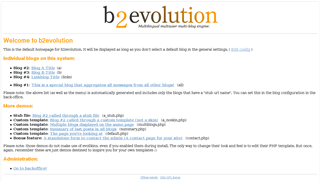 b2evolution-accueil